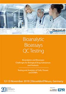 PharmaLab 2019 - Konferenz Bioanalytics and Bioassays - Challenges for Biological Drug Substances and Products
